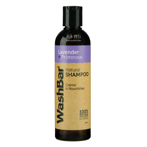 WashBar Natural Shampoo (Lavender + Primrose)  - 250ml