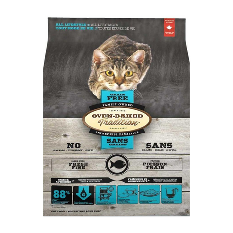 Oven-Baked Tradition Grain Free (Fish) for Cats -1.13kg / 4.54kg