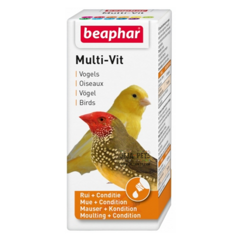 Beaphar Multi-Vitamin for Birds - 20ml
