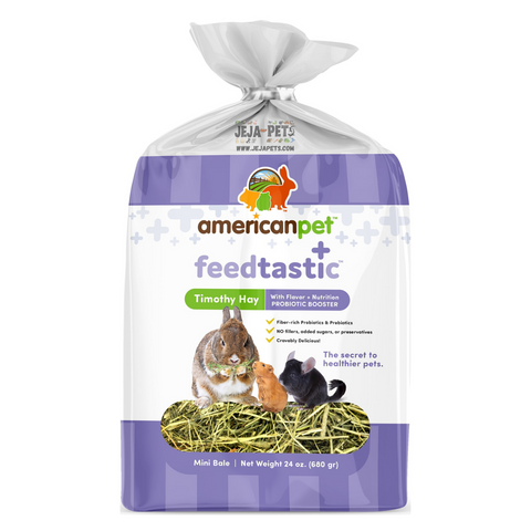 American Pet Diner Feedtastic Timothy Hay with Prebiotic Booster - 680g