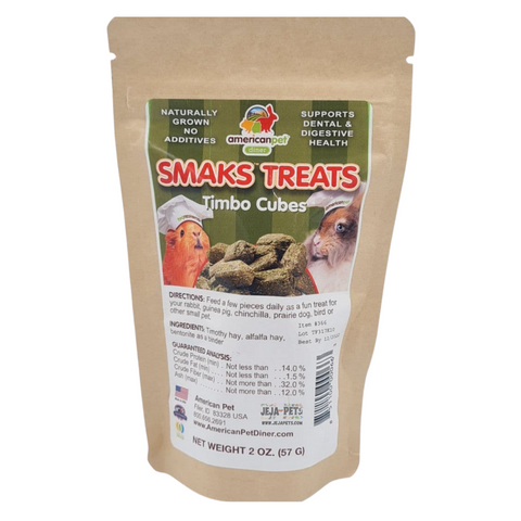 American Pet Diner Smaks Treats (Timbo Cubes) - 57g