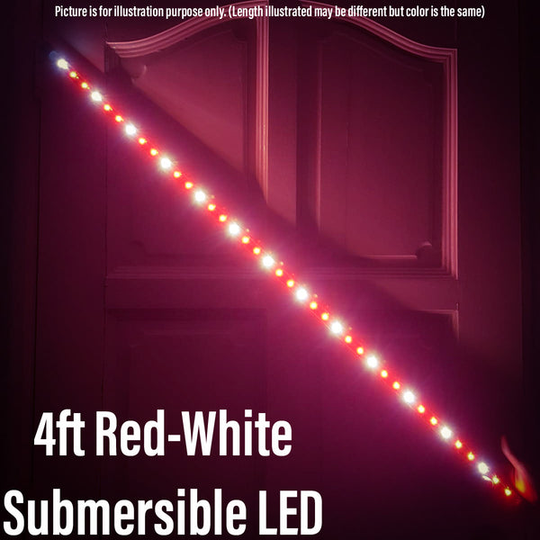 Kintons T4 (Red White) Submersible LED