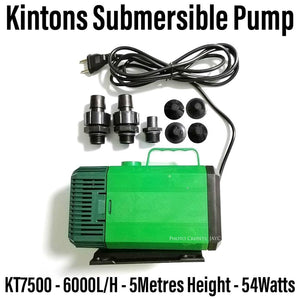 Kintons KT7500 Submersible Pump 6000L/H