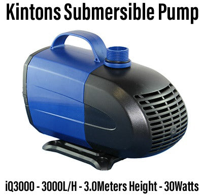Kintons GS Submersible Pump 3000L/H