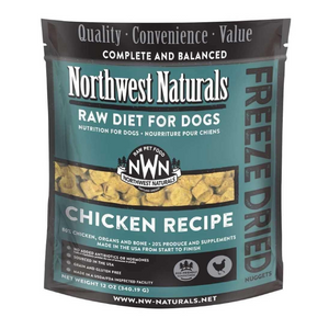 Northwest Naturals Raw Diet For Dogs (Chicken) Freeze Dried Nuggets 12oz