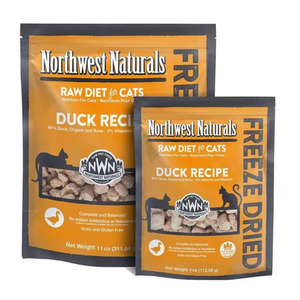 Northwest Naturals Raw Diet For Cats (Duck) Freeze Dried Nibbles