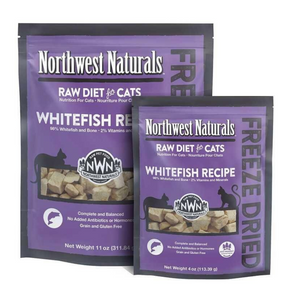 Northwest Naturals Raw Diet For Cats (Whitefish) Freeze Dried Nibbles