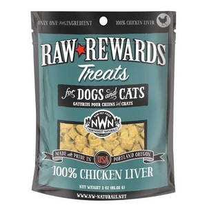 Northwest Naturals Raw Rewards (Chicken Liver) Treats 3oz