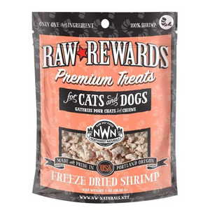 Northwest Naturals Raw Rewards (Freeze Dried Shrimp) Treats 1oz