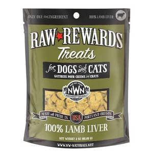 Northwest Naturals Raw Rewards (Lamb Liver) Treats 3oz