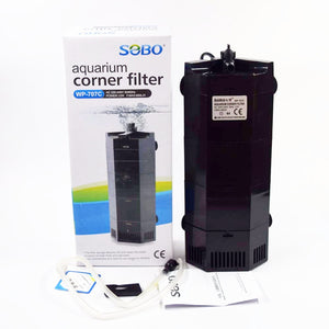 SOBO Aquarium Corner Filter