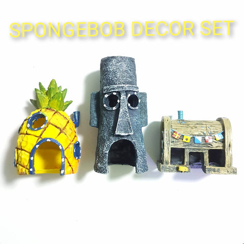 Spongebob Decor Set