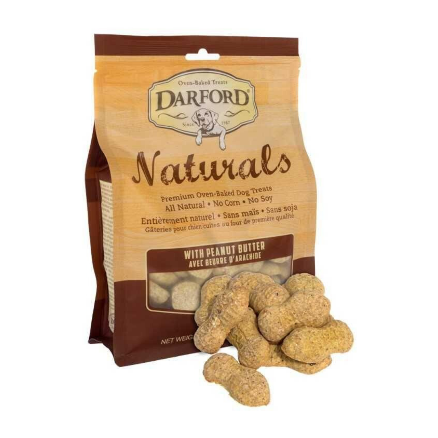 Darford Naturals (Peanut Butter) for Dogs - 170g / 400g