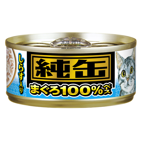 Aixia Jun-Can Mini Tuna with Whitebait Cat Canned Food - 65g