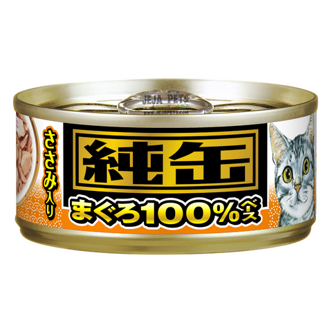 Aixia Jun-Can Mini Tuna with Chicken Fillet Cat Canned Food - 65g