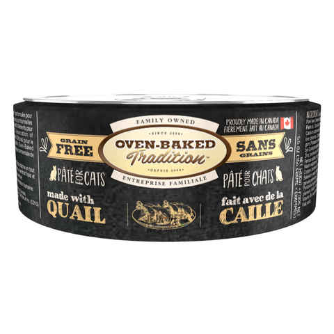 Oven-Baked Tradition (Quail) PÂTÉ Canned Food for Cats - 156g