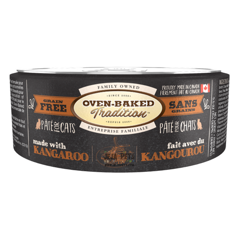 Oven-Baked Tradition (Kangaroo) PÂTÉ Canned Food for Cats - 156g