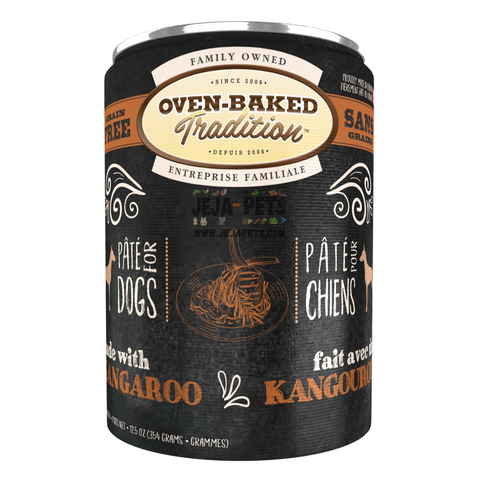 Oven-Baked Tradition (Kangaroo) PÂTÉ Canned Food for Dogs - 354g
