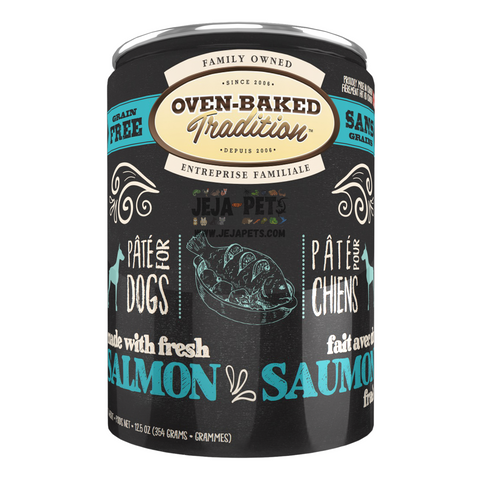 Oven-Baked Tradition (Salmon) PÂTÉ Canned Food for Dogs - 354g