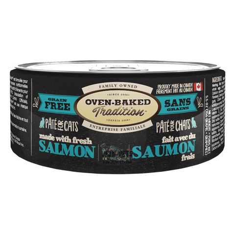 Oven-Baked Tradition (Salmon) PÂTÉ Canned Food for Cats - 156g