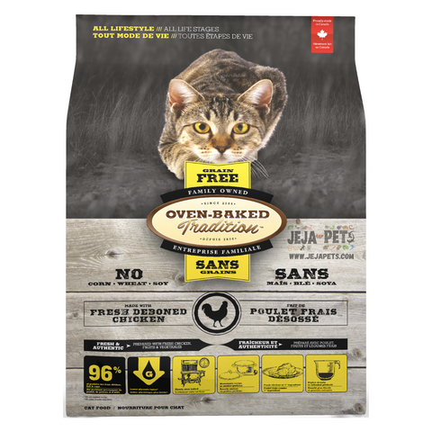 Oven-Baked Tradition Grain Free (Chicken) for Cats - 1.13kg / 4.5kg