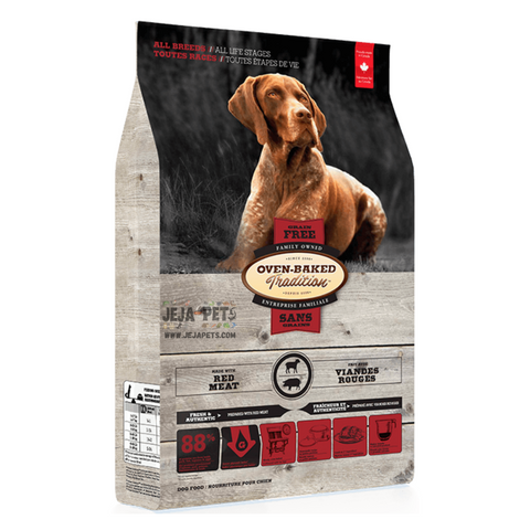 Oven-Baked Tradition Grain Free (Red Meat) for Dogs - 11.34kg