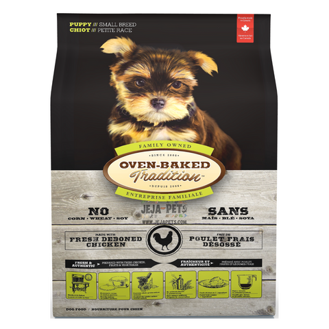 Oven-Baked Tradition (Chicken) for Small Breed Puppies - 2.27kg