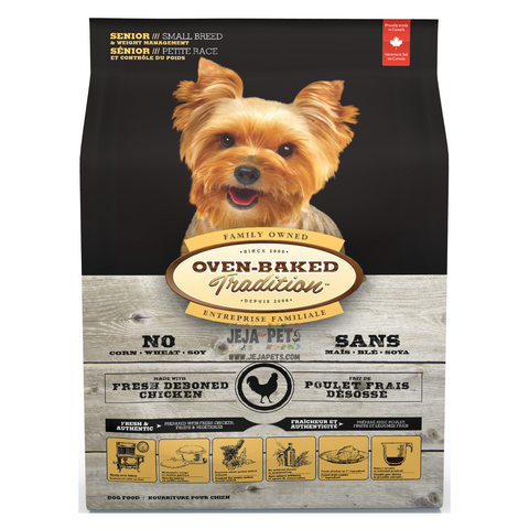 Oven-Baked Tradition (Chicken) Weight Management for Small Breed Senior Dogs - 2.27kg / 5.67kg