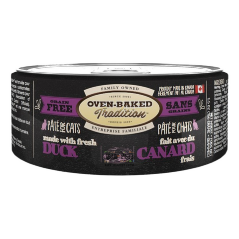 Oven-Baked Tradition (Duck) PÂTÉ Canned Food for Cats - 156g