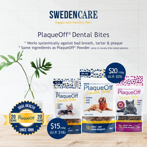 [LAUNCH PROMO] Swedencare ProDen Plaque Off Dental Bites for Cats and Dogs