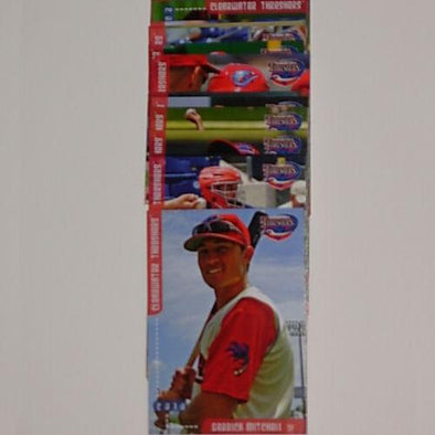 Clearwater Threshers 2010 Team Trading Card Set