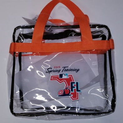 2020 Spring Training Clear Tote Bag