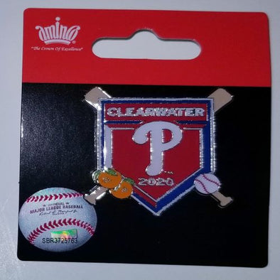 Philadelphia Phillies 2020 Spring Training Cross Bats Pin