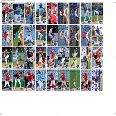 Clearwater Threshers 2019 Team Trading Card Set