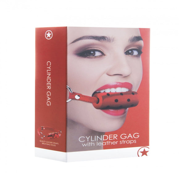 Cylinder Gag - Red - Exotic Room