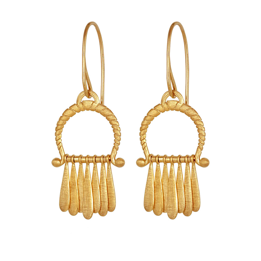 Arc Earrings Gold