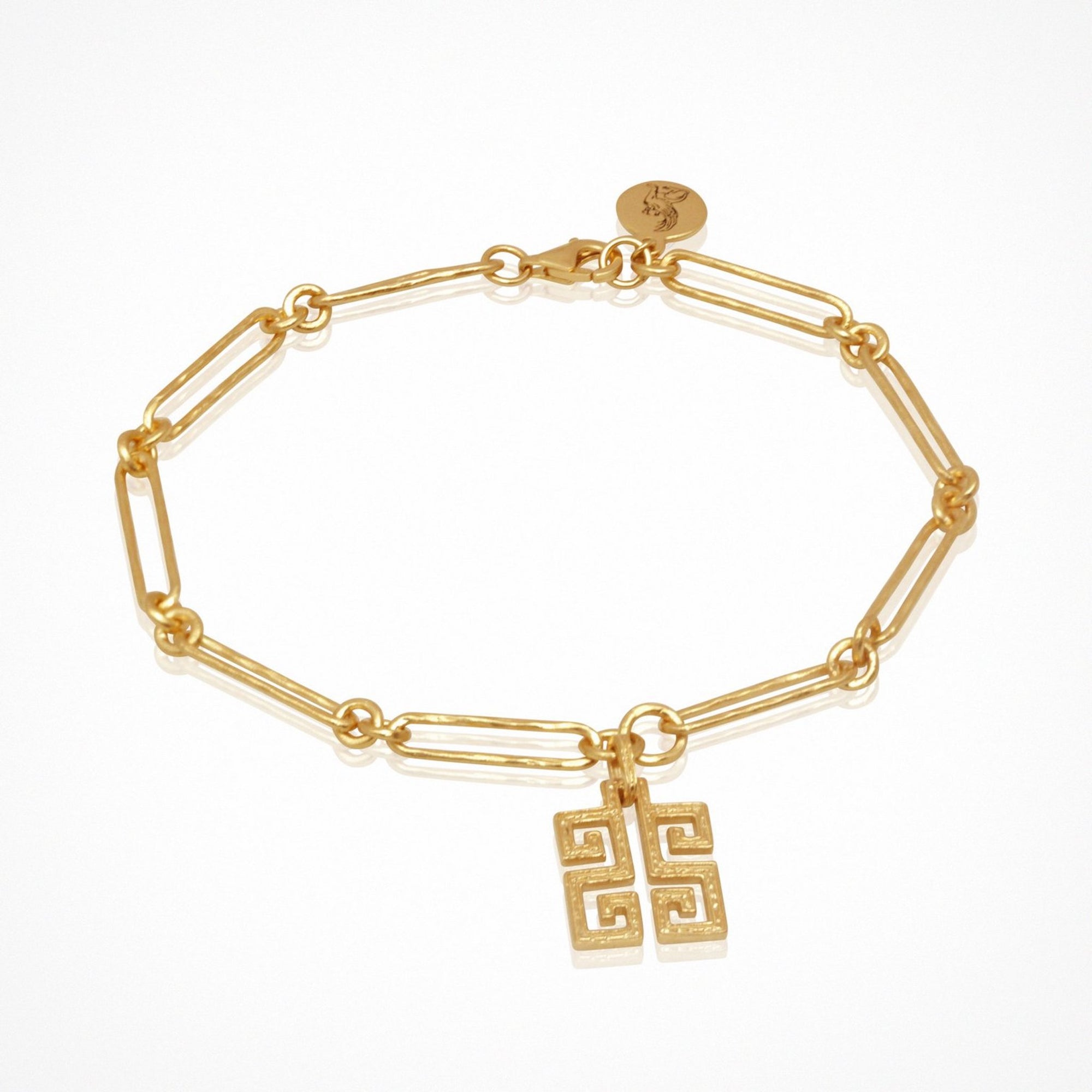 Temple of The Sun Delphi Charm Bracelet