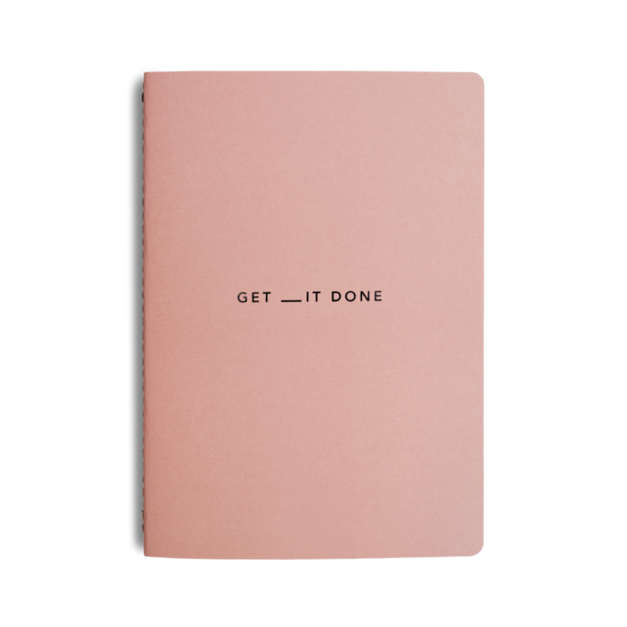 MiGoals Get__It Done Minimal A5 Notebook