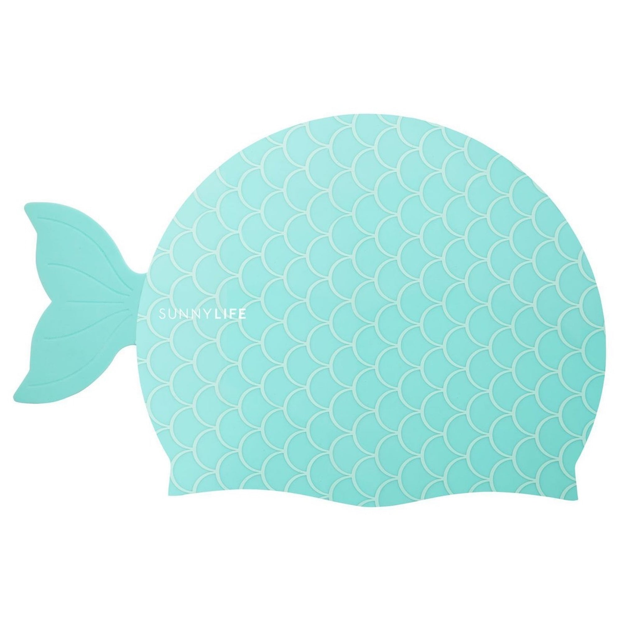 Shaped Swimming Cap 3-9 Mermaid