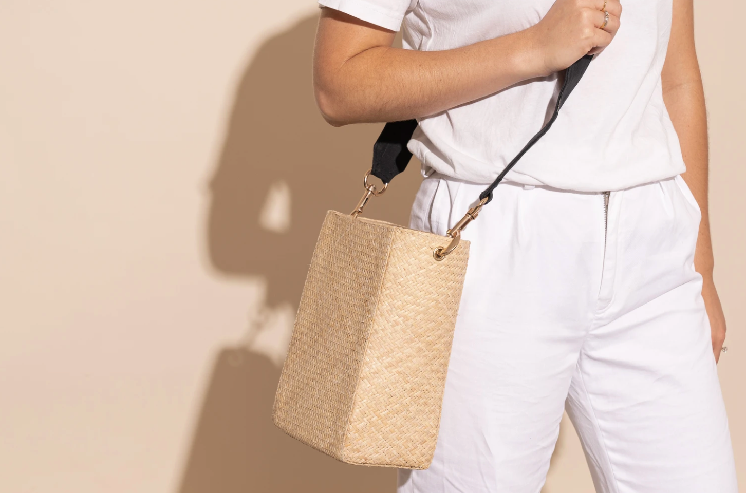 James Smith Domenica Bag - Woven