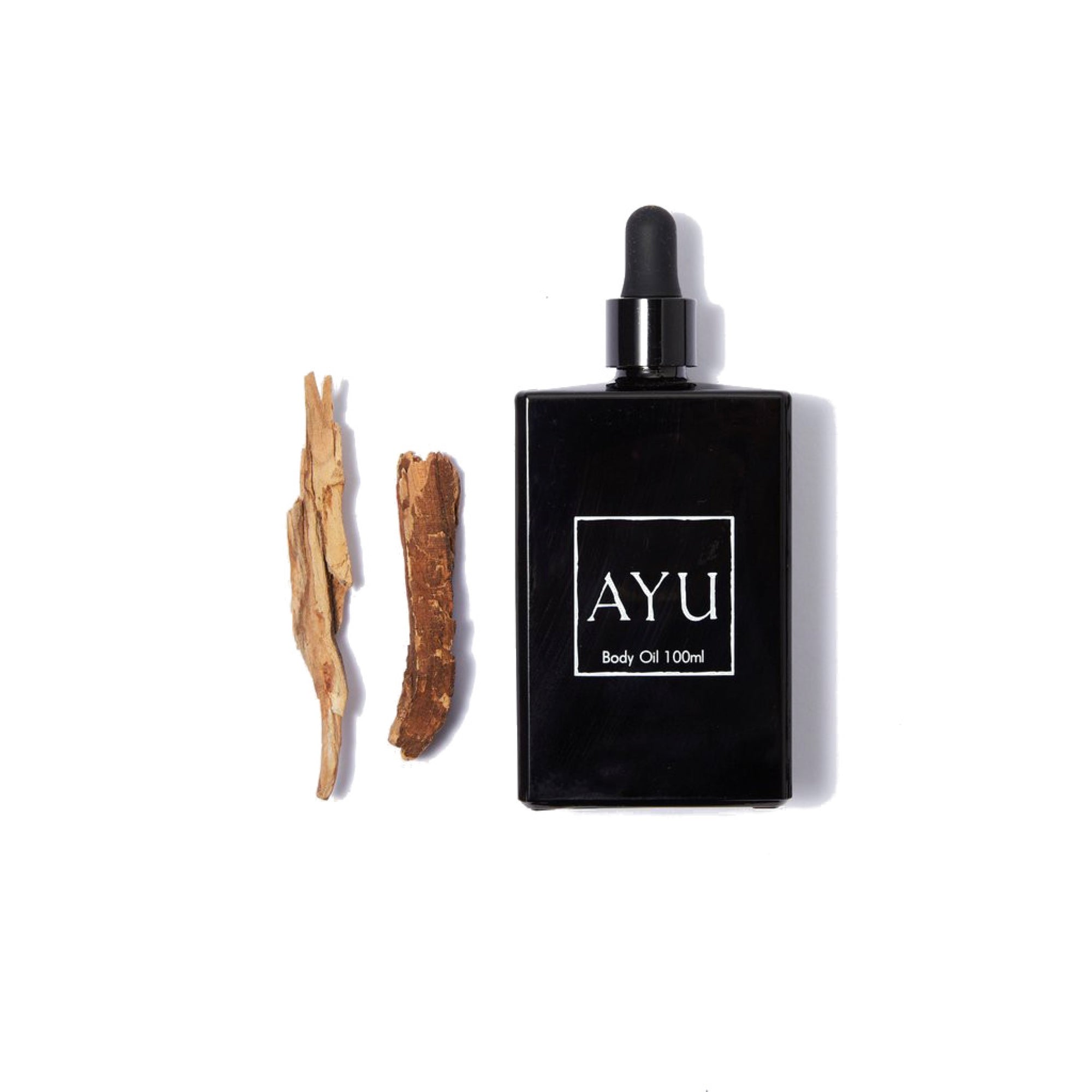 AYU Body Oil 100ml- Amber, Blue Chamomile & Sandalwood
