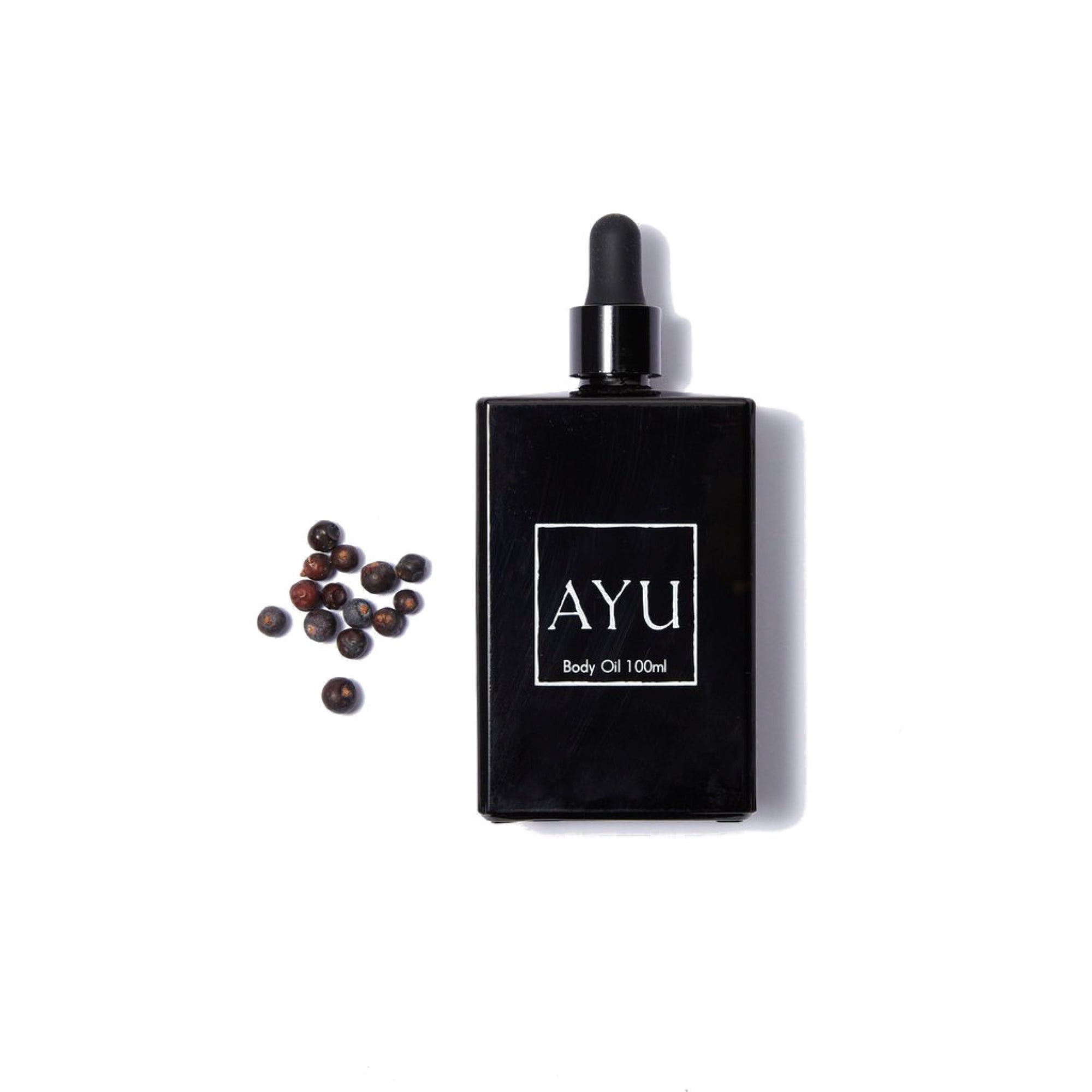 AYU Body Oil 100ml- Juniper Berry, Petitgrain & Vetiver