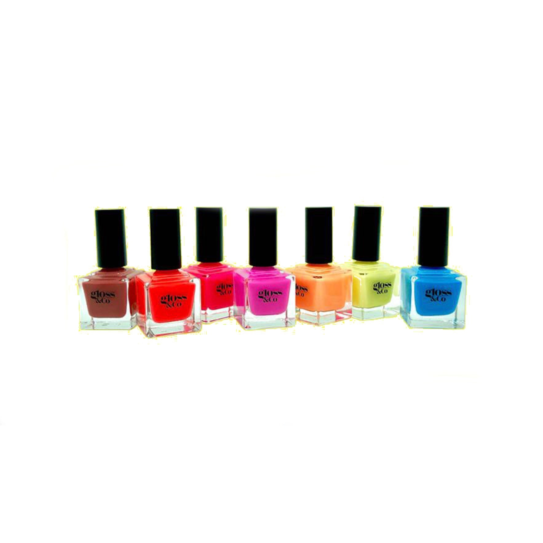 GLOSS & CO - Colour Nailpolishes, Base Coat, Top Coat