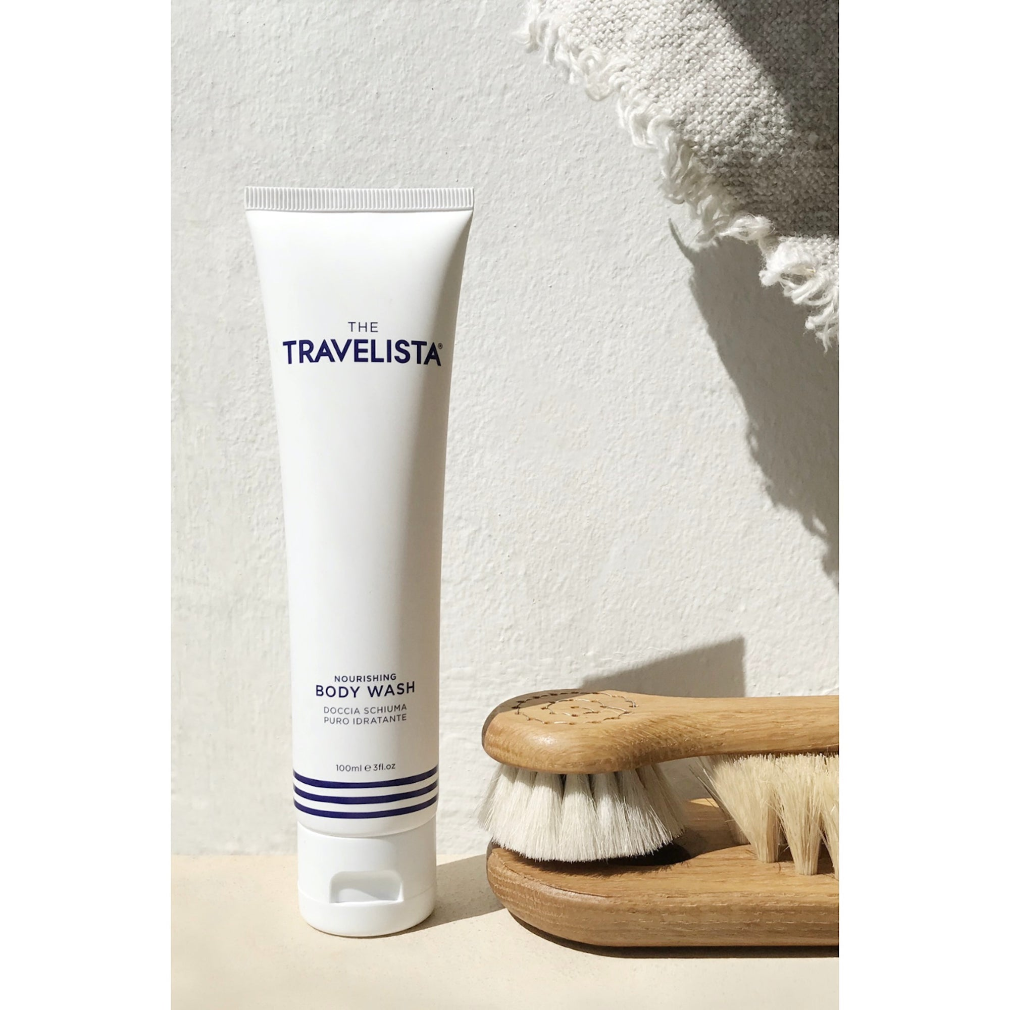 The Travelista Nourishing Body Wash