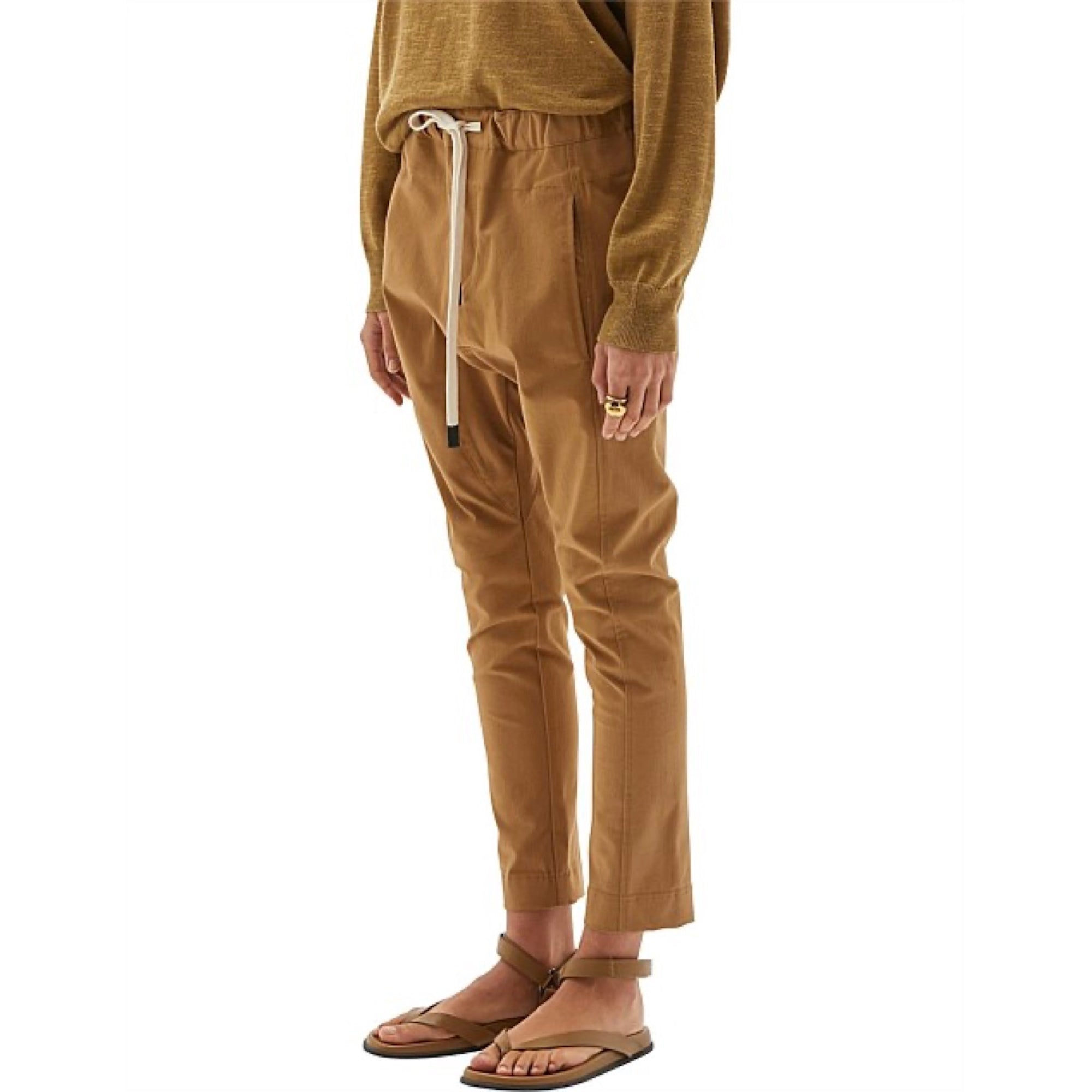 Bassike Cotton Utility Relaxed Pants