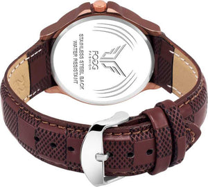 Brown Day and Date Unique New Analog Watch - For Men DY43