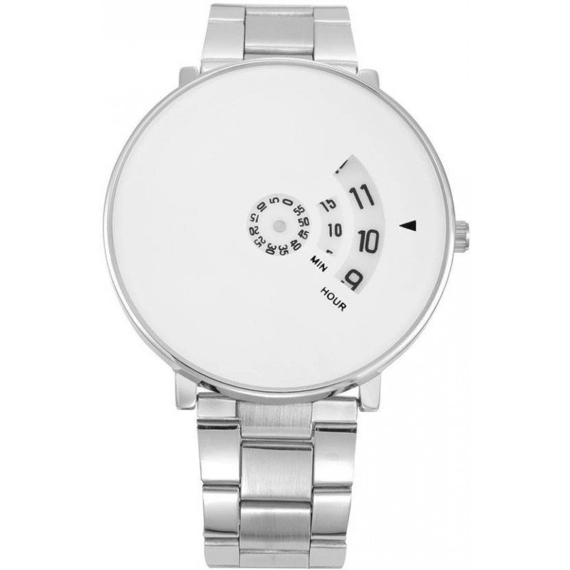 Silver Color Men's Analog Watch DY07
