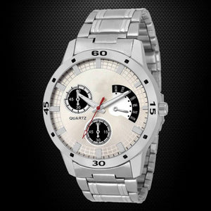 Silver Color Men's Analog Watch DY08
