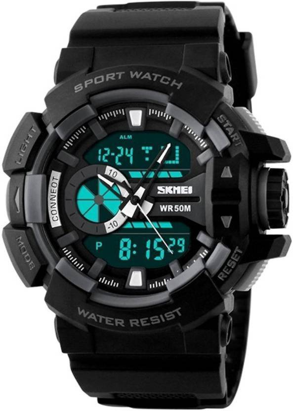 SKMEI Multifuction Black Color Digital Watch DY06