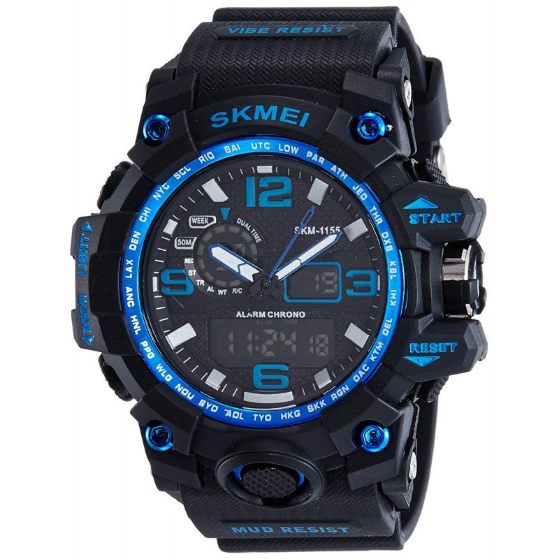 SKMEI Multifuction Black Color Digital Men's Watch DY02